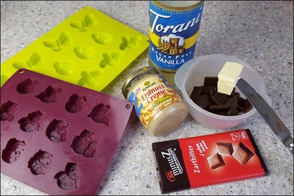 Lowcarb Snickers Pralinen selber machen