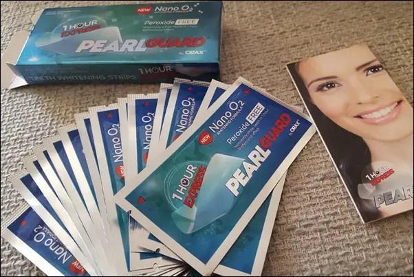 Zahnaufhellung zu Hause - Zähne bleichen mit PEARL Guard Dental Whitening Strips Zahnaufheller