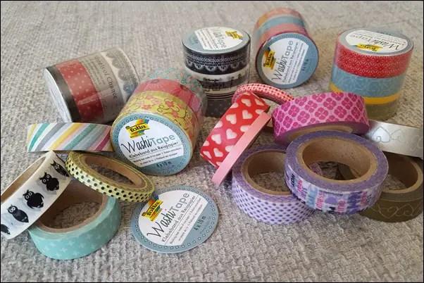 Basteln mit Tape - schöne Kosmetikdosen & Stiftedosen
