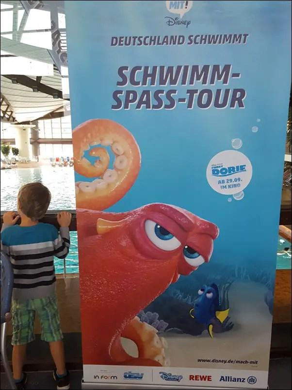 Disney Schwimm Spass Tour in Frankfurt 2016