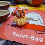 Sammelaktion Kinderüberraschungsei Sport Bag und Findet Dorie