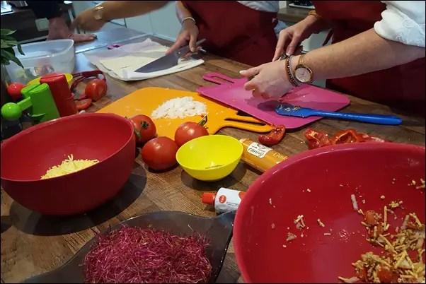 Tante Fanny Bloggerevent in Frankfurt in der Kochwerkstatt