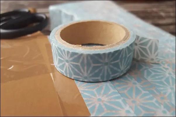 3d buchstaben basteln aus pappe und washi tape honey. Black Bedroom Furniture Sets. Home Design Ideas