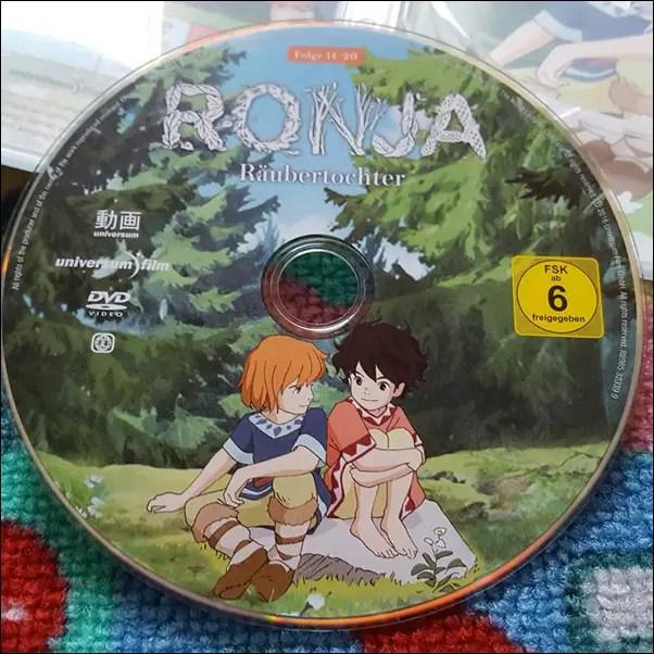 Ronja Räubertochter DVD