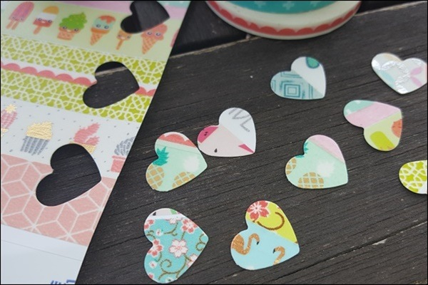 Washi Tape Sticker basteln - Ideen mit Washi Tape