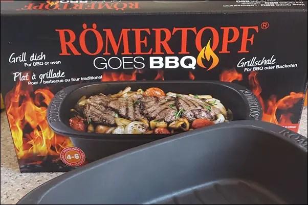 BBQ Römertopf für 4-6 Personen