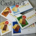 Cashback für Merci Feine Schokolade