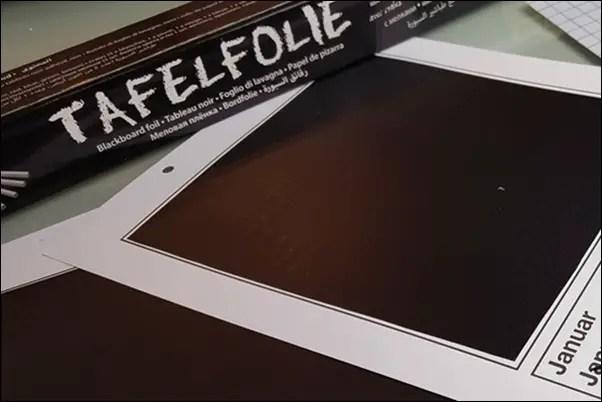 Ideen mit Tafelfolie