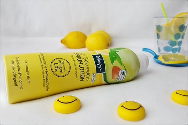Beitragsbild Kneipp Sekunden-Sprühlotion Zitrone Avocado