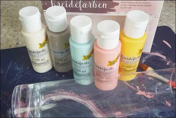 DIY mit Kreidefarben zum Muttertag