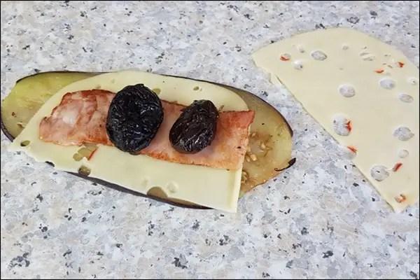 Feurige Lowcarb Spieße mit Bergader Bergbauern Käse