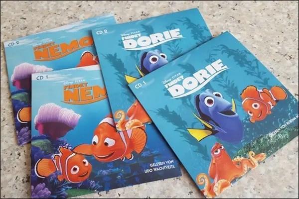 Hörspiel Findet Dorie Findet Nemo