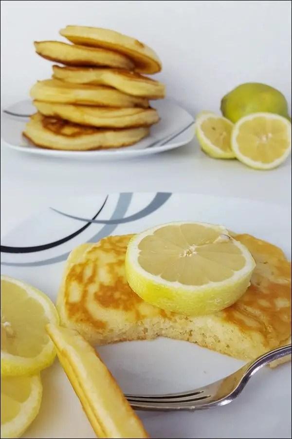 Saftige Zitronen-Ricotta-Pfannkuchen