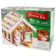 Holiday food ideas - Gingerbread house kit