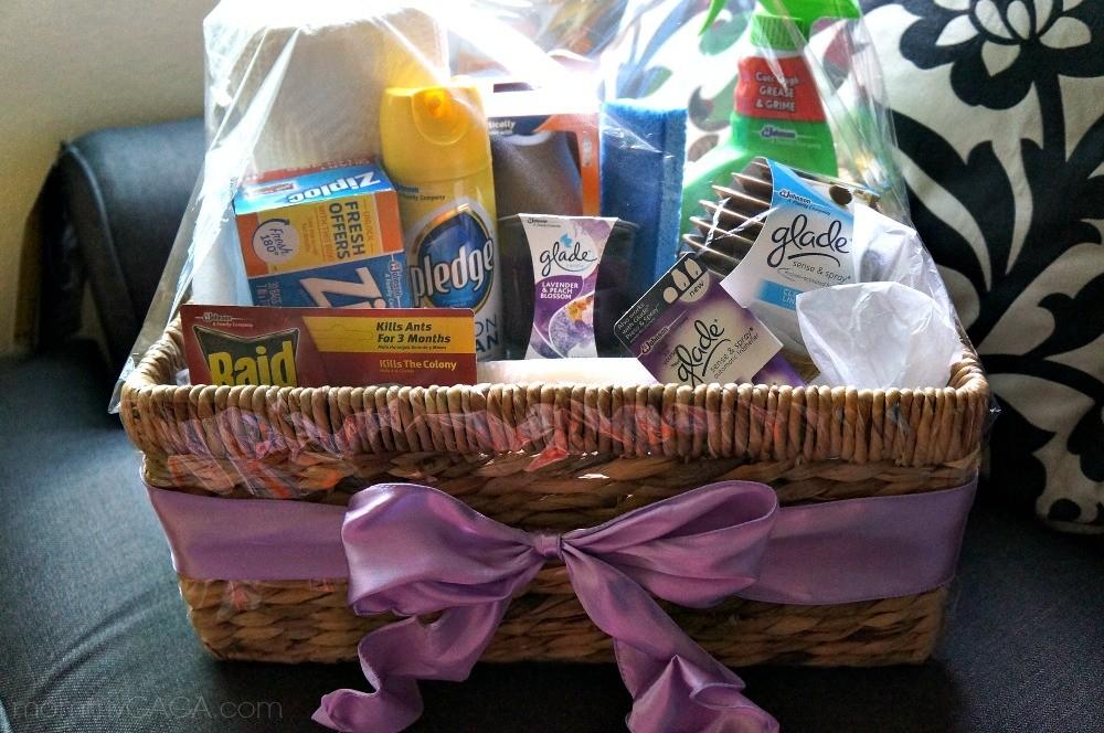 Housewarming Gift Ideas DIY Home Essentials Gift Basket Honey