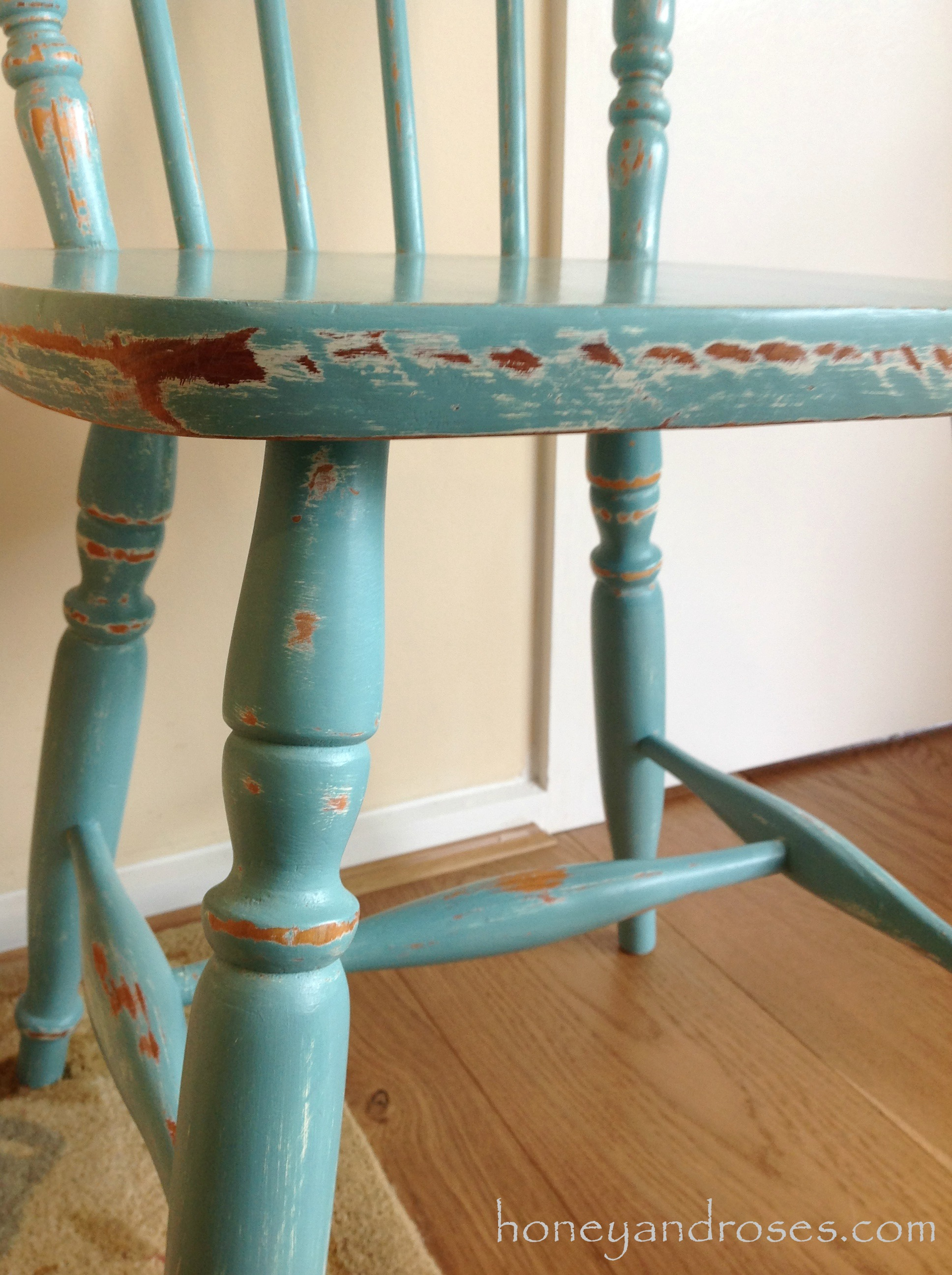 painted kitchen chairs grease cleaner makeover of a pine chair using chalk paint  honey