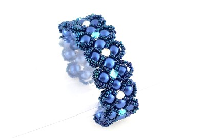 Lady Luck Bracelet Beading Tutorial by HoneyBeads1