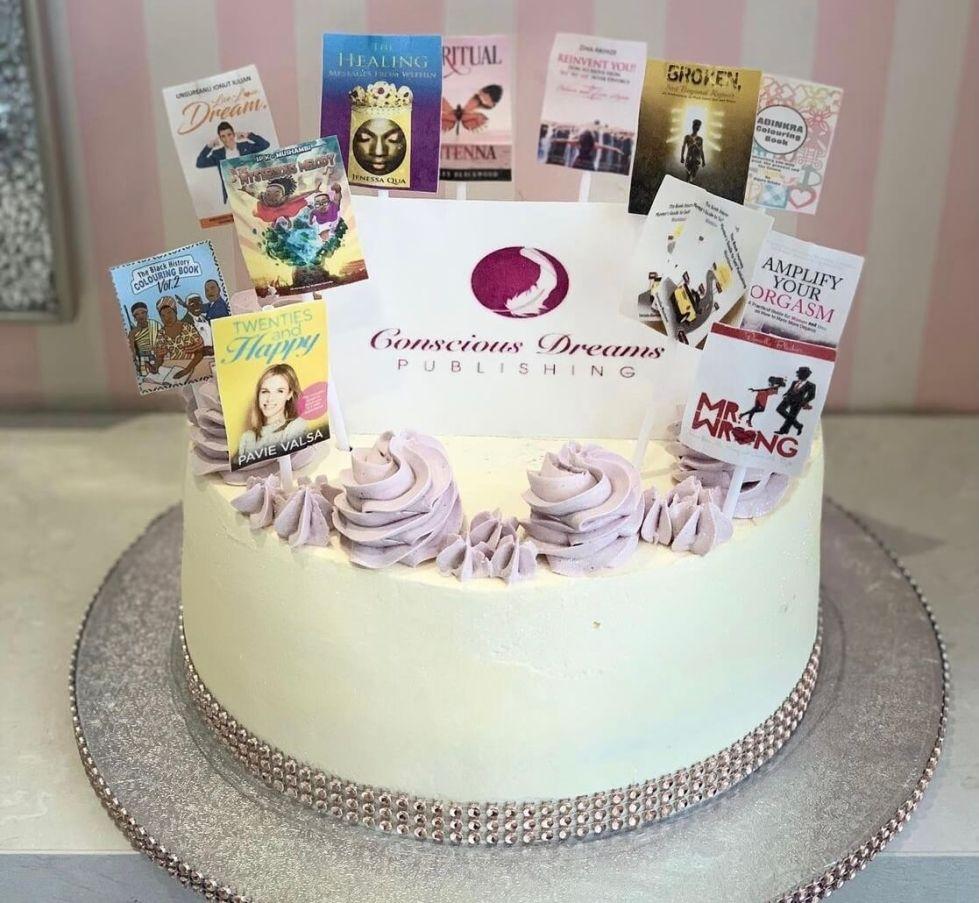 White Conscious Dream Cake