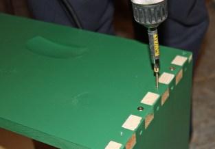 10. A deep brood box requires 40 screws.