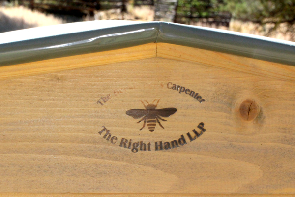 """The Beekeeper's Carpenter"" The Right Hand LLP."