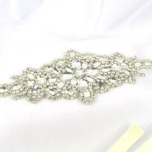 Crystal bridal belt - Sophia
