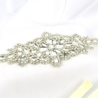 Crystal bridal belt - Sophia