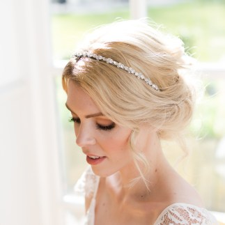 Crystal wedding hairband - Callia