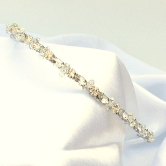 Sparkly wedding hairband - Callia