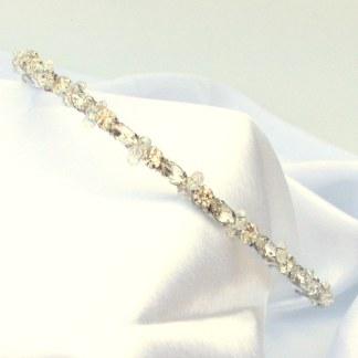 Sparkly wedding hairband - Callia
