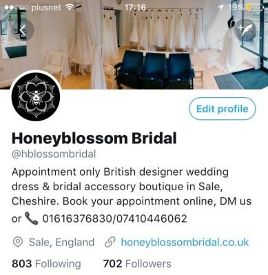 Wedding shop news Twitter