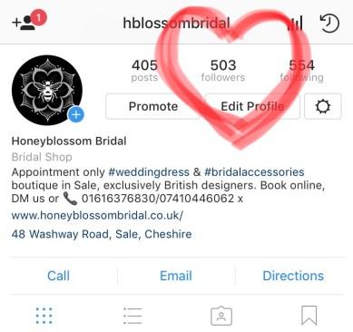 Wedding shop news Instagram
