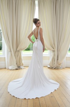 Catherine Parry Julia wedding dress back