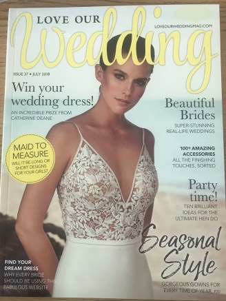 Love Our Wedding magazine