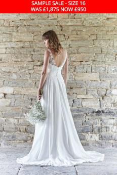 So Sassi Angela wedding dress sample sale