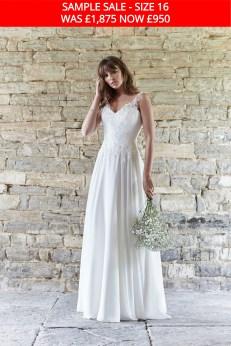 So Sassi Angela wedding gown sample sale