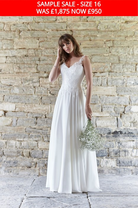 So Sassi Angela wedding gown sample sale