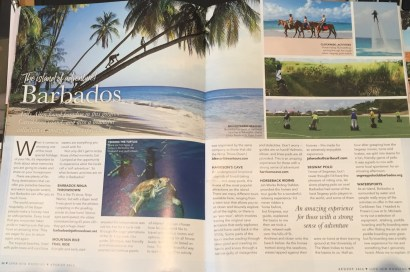 Love Our Wedding Magazine honeymoon article