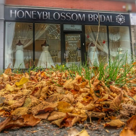 Honeyblossom Bridal boutique Manchester