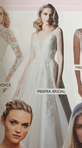 Love Our Wedding MiaMia Chanel wedding dress