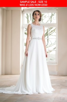 Catherine Parry 1508 wedding gown sample sale