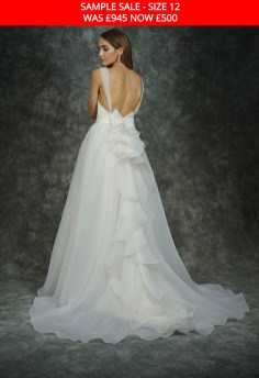 Catherine Parry 1604 wedding dress sample sale