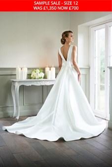 Catherine Parry 1628 bridal dress sample sale