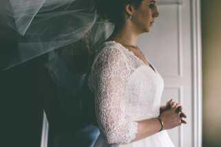 Real bride Emma wedding dress
