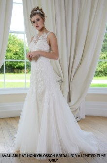 Catherine Parry Megan bridal gown - Available at Honeyblossom Bridal for a limited time only