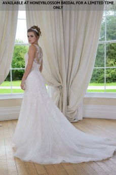 Catherine Parry Megan wedding dress - Available at Honeyblossom Bridal for a limited time only