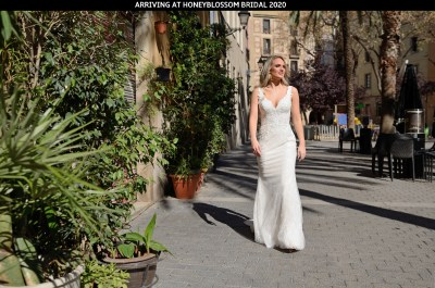 Catherine Parry Aurelia wedding gown arriving soon at Honeyblossom Bridal boutique