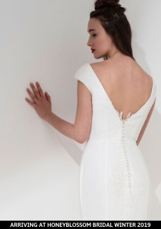 Freda Bennet Cleo wedding dress arriving soon to Honeyblossom Bridal