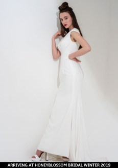 Freda Bennet Cleo wedding gown arriving soon to Honeyblossom Bridal