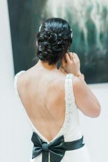 Real bride Hannah