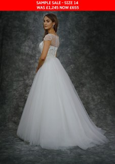 Catherine Parry 1624 bridal gown sample sale